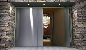 Custom Size Steel Exterior Doors Contemporary Entry Door Handles Stainless Steel Front Door