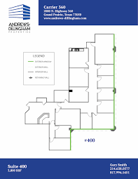 Estella Gardens Floor Plan Grand Prairie Office Building For Lease Andrews Dillingham