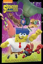 spongebob squarepants mti junior novel by david lewman scholastic
