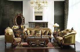 Leather Livingroom Furniture Interior Living Room Designer Luxury Classic Luxury Living Room