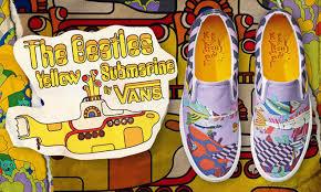 Jual Vans Beatles sepatu vans yellow submarine terinspirasi oleh the beatles