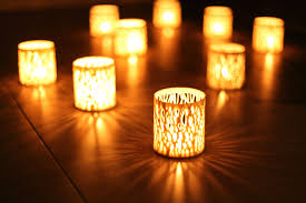 small tea light candles branches of light small candle holder by hajime design 40 00