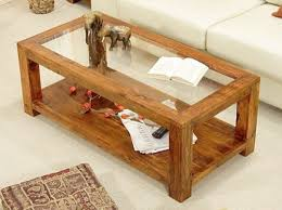 glass coffee table with glass shelf reclaimed wood and glass coffee table s v intended for idea 2
