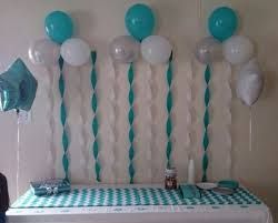Balloons and Streamers 27 Super Cute Baby Shower Decorations to…