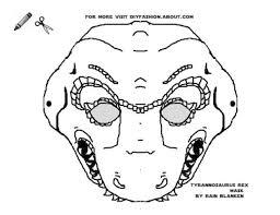 printable lizard mask template best photos of dinosaur mask template dinosaur mask template