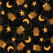 cotton quilt fabric scaredy cats debbie mumm black