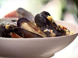 Italian Bread Salad Recipe Ina Garten Mussels And Basil Bread Crumbs Recipe Ina Garten Food Network
