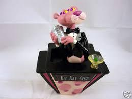 pink panther cool cat bar bobber statue pink panther