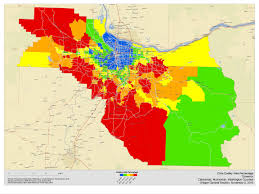 Portland Oregon County Map by Lindholm Company Blog 2010 Oregon Post Election Analysis