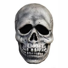 halloween skeleton head halloween 3 season of the witch skull mask w attached