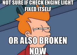 Fry Meme Generator - car maintenance tips
