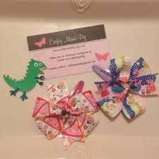 peppa pig ribbon peppa pig hair bow clip set ribbon pinwheel hair clip with gem