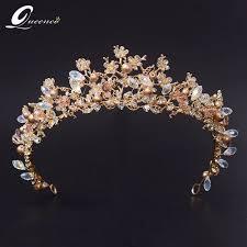 bridal tiaras aliexpress buy 2017 fashion magnificent diadem clear