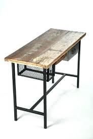 bureau stylé plateau bois bureau des bureaux en bois bureau style industriel