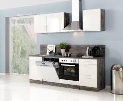 küche günstig mit elektrogeräten küchenzeile lissabon küche mit e geräten breite 220 cm