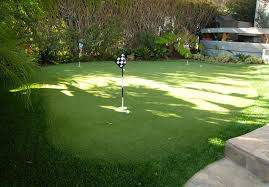 Turf For Backyard by Artificial Grass Putting Greens Nomow Turf