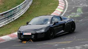 audi supercar black 2015 audi r8 spied with less camouflage photos 1 of 19