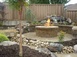 backyard stone fire pit exterior pave patio with gas fire pit paver patio with portable