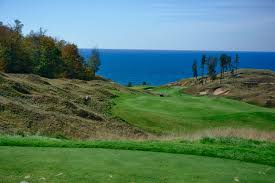 arcadia bluffs golf club arcadia michigan breaking eighty