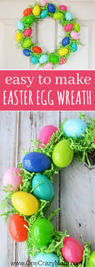 how to make an easter egg wreath diy easter egg wreath easy easter wreaths you will