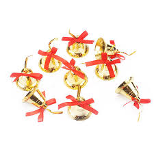 New Year Decoration Product by Aliexpress Com Buy 18 Pcs Lot Golden Bell Christmas Decorations