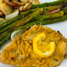 Baked Chicken Breast Dinner Ideas Baked Chicken With Hummus Whole Meal On One Baking Sheet
