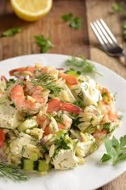 ina garten s shrimp salad barefoot contessa shrimp and orzo salad