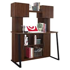hanson desk with hutch cherry ameriwood home target