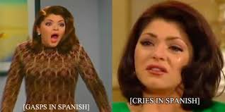 Crying Woman Meme - how an evil stepmother from a telenovela proved that everything s