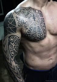 53 graceful tribal tattoos on sleeve