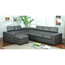 Gray Leather Sofa Gray Leather Contemporary Grey Leather Sectional