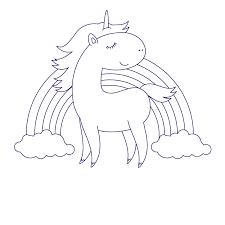 create unicorn illustration adobe illustrator