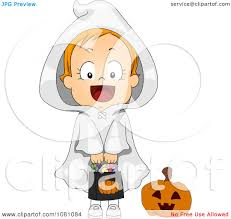 ghost with candy clipart clipartxtras
