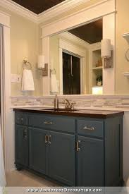 Mirrored Bathroom Vanities by 25 Best Mirror Trim Ideas On Pinterest Diy Framed Mirrors Diy