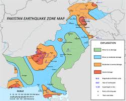 middle east earthquake zone map geology of pakistan
