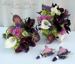 silk wedding bouquets 4 wedding bouquet bridal bouquet set silk wedding flowers