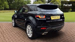 luxury black range rover used land rover range rover evoque 2 0 td4 hse dynamic lux 5dr