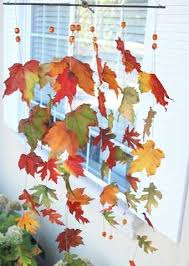 Decorating With Fall Leaves - 12 creative home decor ideas using fall leaves and dry foliage