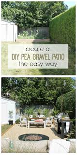 Easy Patio Diy by Best 25 Gravel Patio Ideas On Pinterest Patio Ideas With Gravel