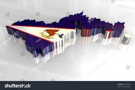 American Samoa Map 3d Flag Map American Samoa Stock Illustration 12020755 Shutterstock