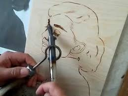 free hand wood burning youtube