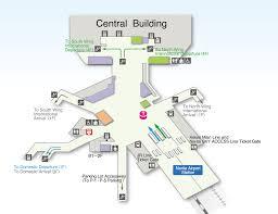 hong kong international airport floor plan access via train narita international airport official website
