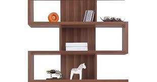 Bookcases Galore Zag Bookcase Walnut 5 Shelf Bookcase