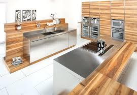 cuisine bois inox meuble de cuisine inox exceptionnel cuisine moderne dans l ancien