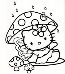 coloring sheets kitty coloring pages 3019