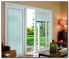 Wood Patio Doors With Built In Blinds by Sliding French Doors With Built In Blinds Patios Home Design