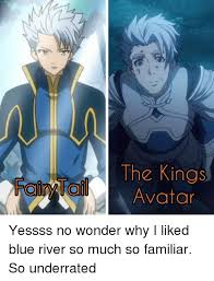 Avatar Memes - the kings avatar yessss no wonder why i liked blue river so much so