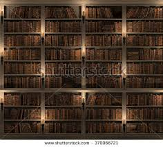 Bookshelf Background Image Bookshelf Seamless Texture Background Mysterious Library Stock
