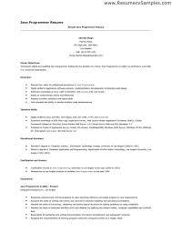 Sample Resume Computer Programmer Java Programmer Resume Java Developer Resume Sample Vibrant