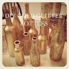 Glitter Spray For Christmas Decorations by Best 25 Glitter Wine Bottles Ideas On Pinterest Glitter